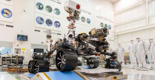 NASA Prepares to Launch the Mars Rover Perseverance