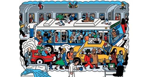 Commuting Has Surprising Mental-Health Benefits - The Atlantic
