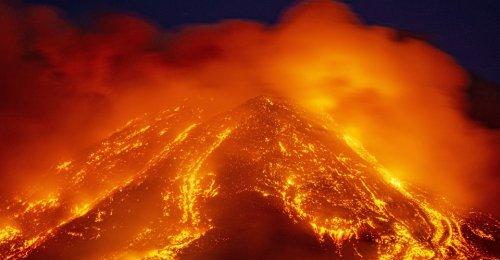 Recent Eruptions on Mount Etna