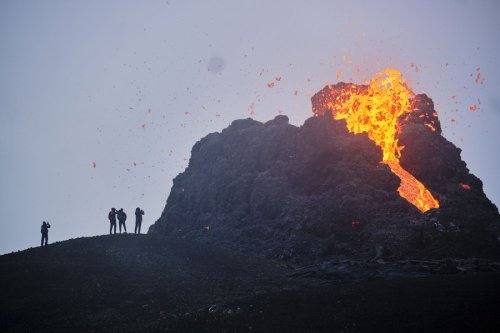 Photos of Iceland's Fagradalsfjall Volcano