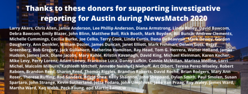 2020 NewsMatch donors