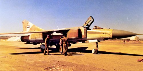 The Libyan MiG-23 pilot that fled to a Greek WW II airfield and all the skirmishes between Gaddafi's fighters and US and French reconnaissance aircraft until early 1981 - The Aviation Geek Club