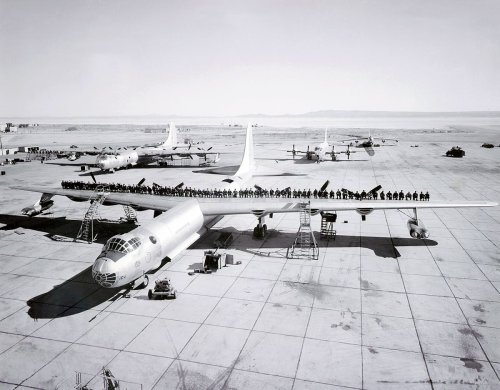 How the B-36 Peacemaker bomber survived to five cancellation attempts during its career - The Aviation Geek Club