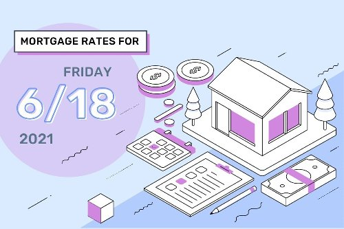 Today's Mortgage Rates & Trends, June 18, 2021
