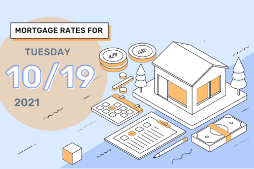 Today's Mortgage Rates & Trends, Oct. 19, 2021