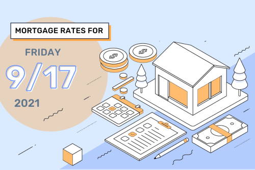 Today's Mortgage Rates & Trends, September 17, 2021