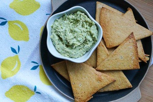 Easy Vegan Chickpea Chips For Snacking