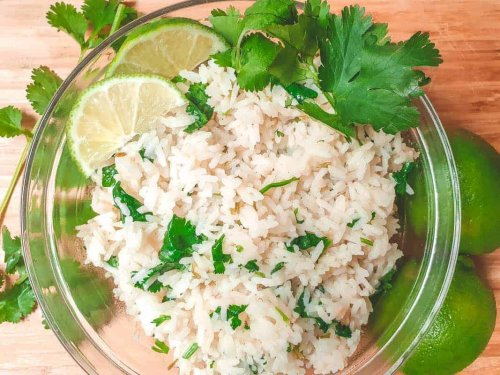 Fresh And Tangy Cilantro Lime Rice