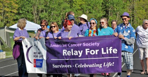 Relay for Life Goes Virtual from 4 to 8 pm on Saturday, May 15