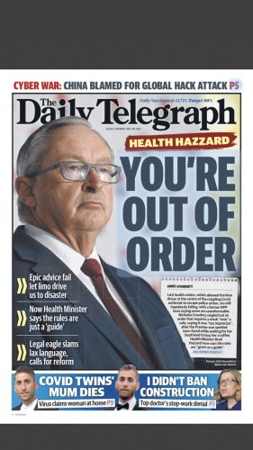 Why Murdoch going after Hazzard matters