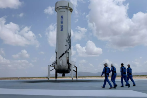 Bezos and Branson are not astronauts, FAA rules