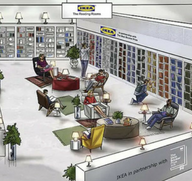 IKEA 'Reading Rooms' to celebrate Man Booker longlist