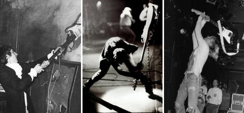 10 times rock bands destroyed their instruments, surroundings, and each other