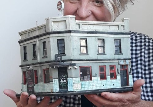 This miniature artist makes incredible artworks of beloved Melbourne spots