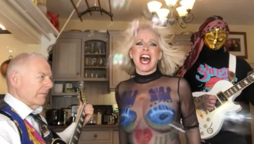 Robert Fripp and Toyah Wilcox cover Rolling Stones classic 'Satisfaction'