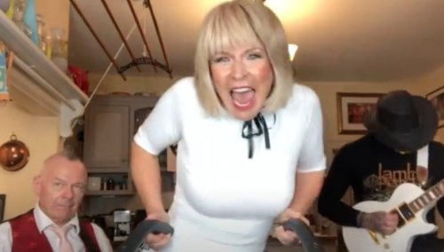 Robert Fripp and Toyah Willcox cover Steppenwolf's 'Born To Be Wild'