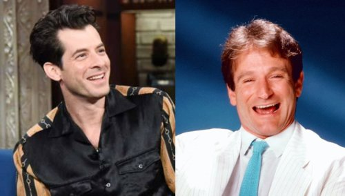 Mark Ronson recalls early memory of Robin Williams tucking him into bed