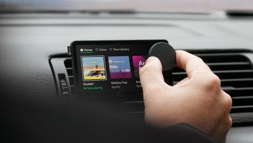 Spotify makes its hardware debut with in-vehicle system 'Car Thing'