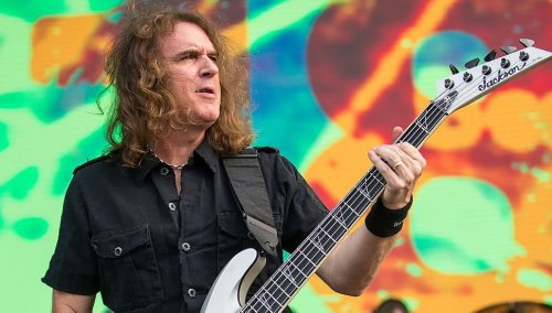 Megadeth has unsurprisingly removed David Ellefson from their new album
