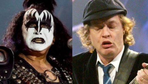 Gene Simmons recalls first meeting with AC/DC's Angus Young: 'he didn't have front teeth'