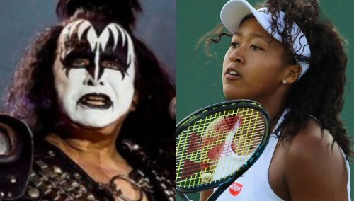 Gene Simmons, Flea show support for Naomi Osaka after she withdraws from French Open