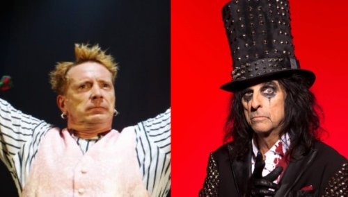 Alice Cooper recalls Johnny Rotten's 'disturbing' behaviour during the early days