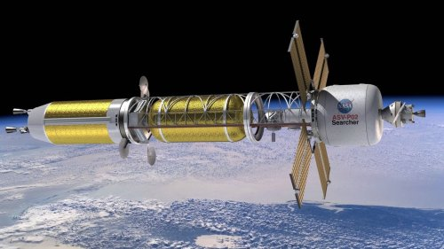 Is using nuclear materials for space travel dangerous, genius, or a little of both?