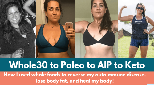 My Weight Loss and Healing Journey: How AIP and Keto Helped Me
