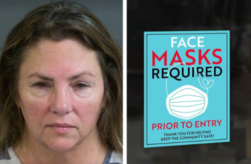 """""""Fu** yourself!"""" Armed with fully loaded handgun, woman attacks deputy in broad daylight after she was asked to wear face mask or face covering"""
