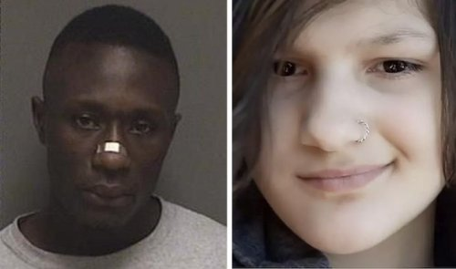 Black homeless man choked and stabbed 20 times white teen girl while riding her skateboard in broad daylight