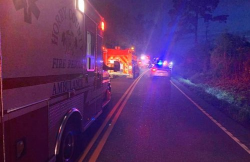 Crash in Galivants Ferry resulted with 1 dead and 3 injured