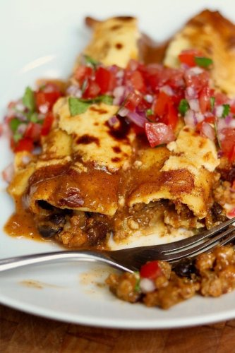 Best Ever Vegan Enchiladas With Homemade Enchilada Sauce