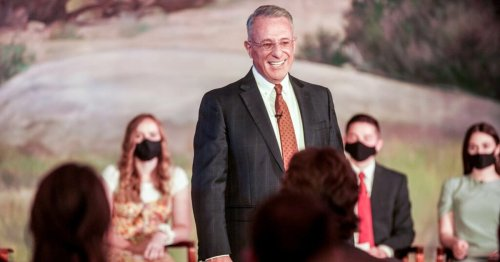 What Elder Soares taught BYU-Idaho students about finding peace in Christ amid adversity