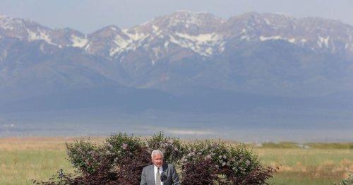 Leaders honor faithful, unified members in Tooele Valley as they break ground for Deseret Peak Utah Temple