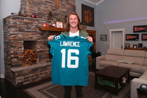 Lawrence already breaking NFL records