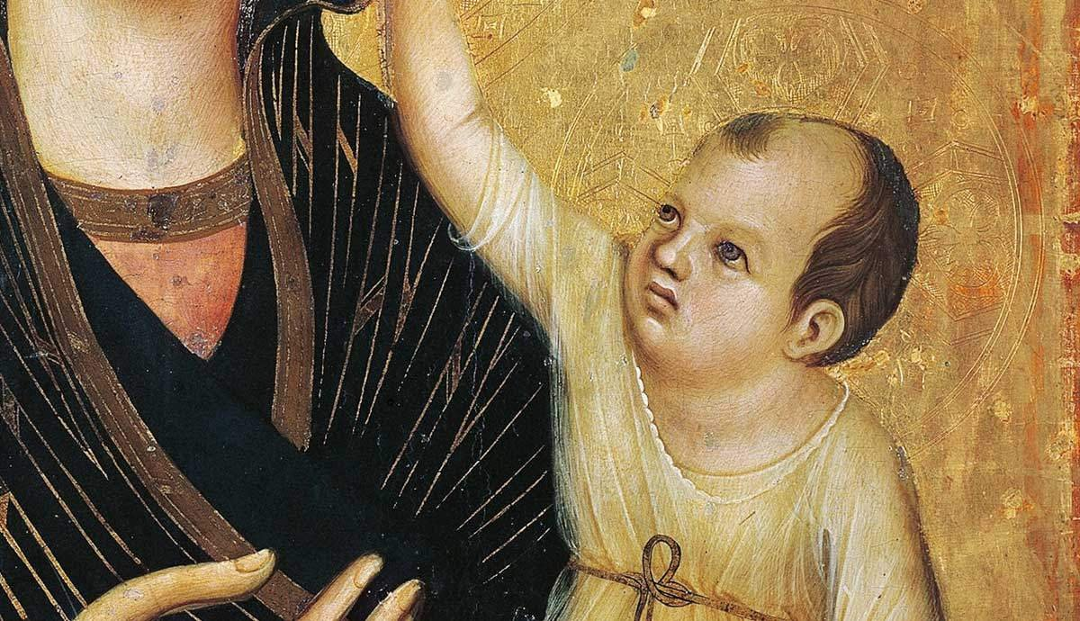 Why does Baby Jesus Look like an Old Man in Medieval Religious Iconography?