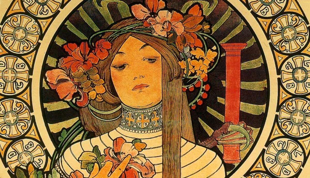 Many Faces: Art Nouveau's Themes and Influences