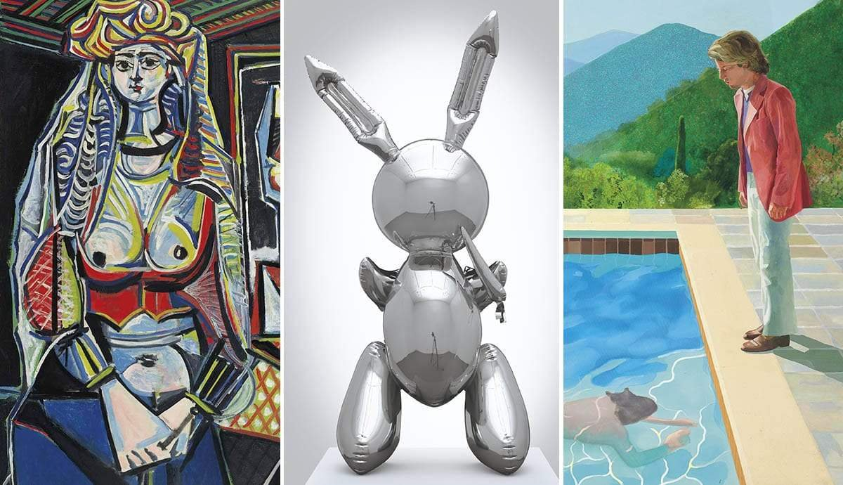 11 Most Expensive Auction Results in Modern Art in the Last 5 Years