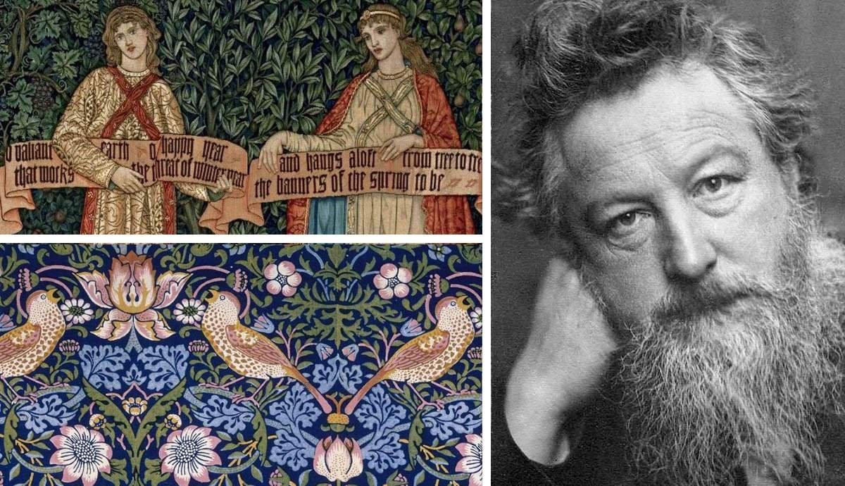 William Morris Described in 7 Facts and 7 Beautiful Designs