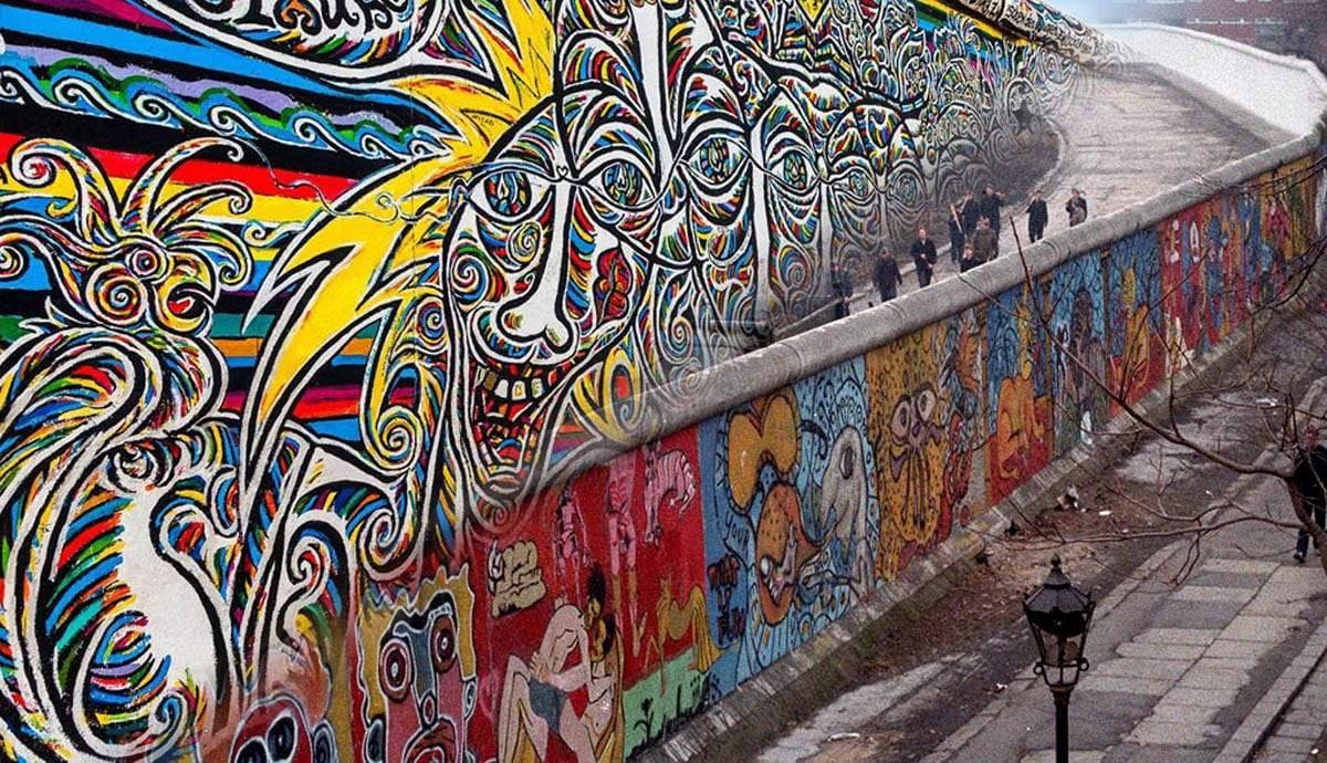 The Art on the Berlin Wall: Sentiments of East and West Berlin