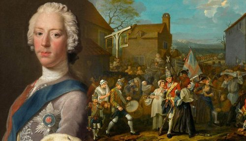 The Story of Bonnie Prince Charlie, Britain's Young Pretender