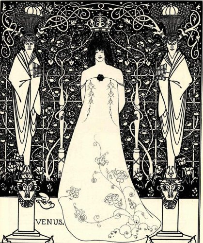 Explore the Strange and Erotic Art Nouveau of Aubrey Beardsley