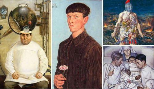 6 Artists Who Depicted Traumatic & Brutal Experiences of World War I