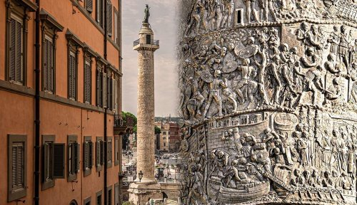 Trajan's Column: The Ancient Roman Movie Carved In Marble
