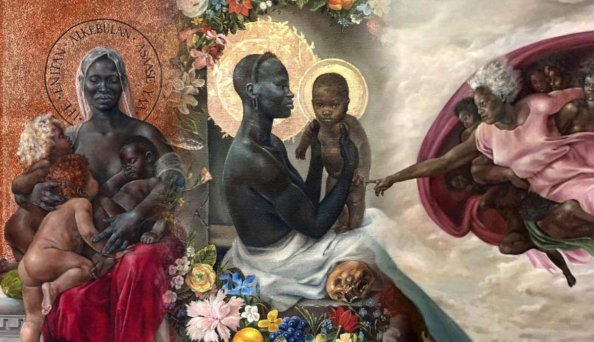Harmonia Rosales: Black Feminine Empowerment in Paintings
