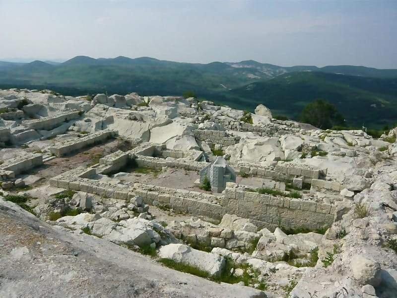 The Ancient Thracian City of Perperikon