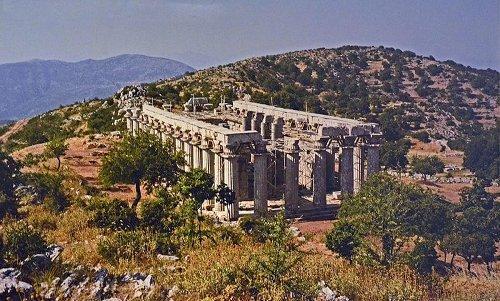 The Temple of Apollo Epicurius of Bassae, the odd temple