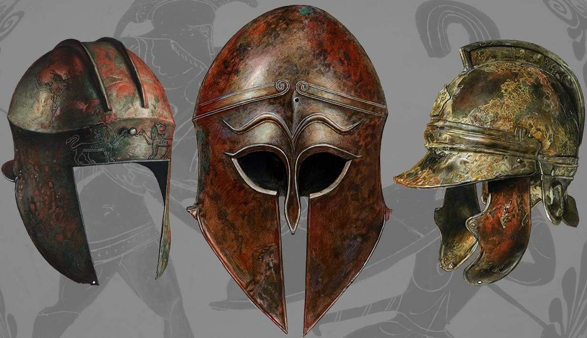 Ancient Greek Helmets: 8 Types and their Characteristics