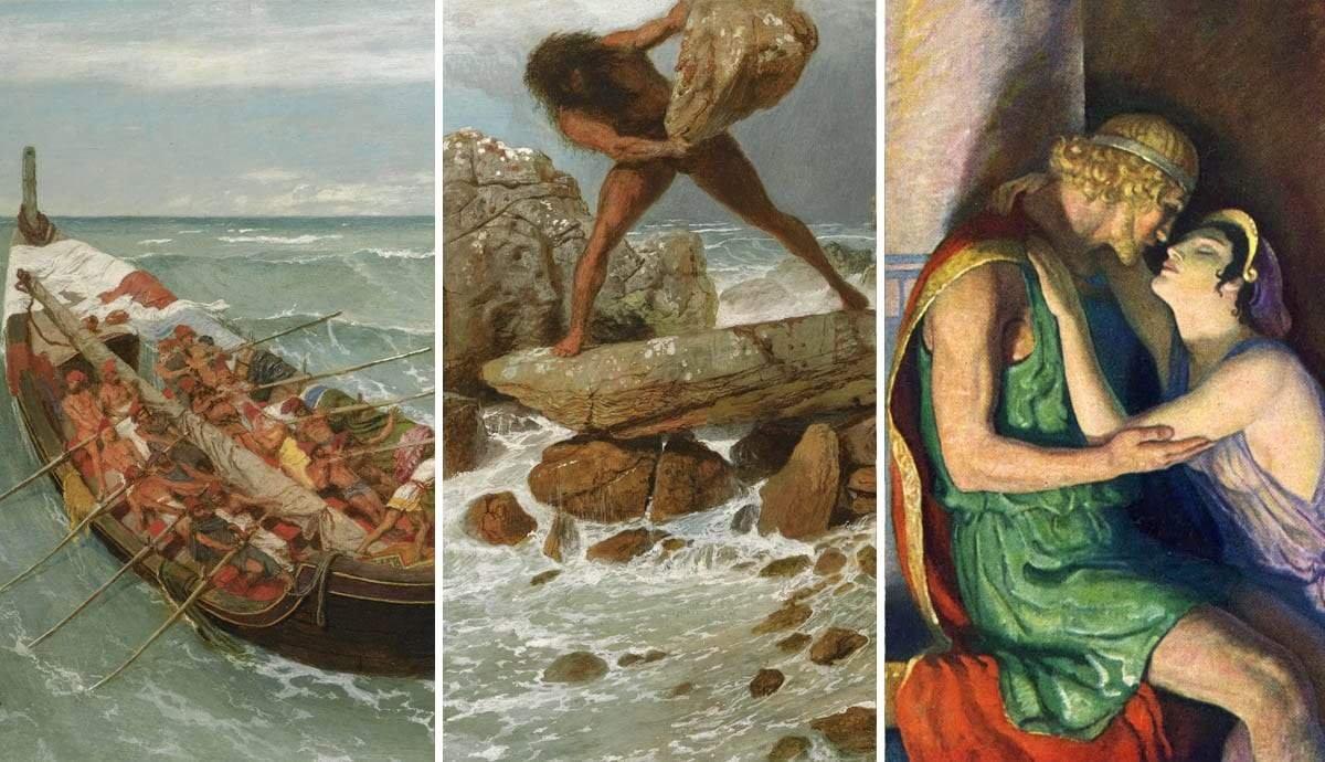Homer's Odyssey: The Voyages of Odysseus Described in 15 Artworks