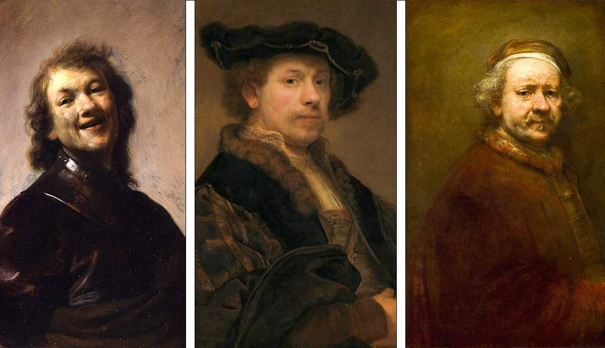 The Fascinating Evolution of Rembrandt's Self-Portraits